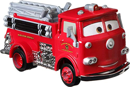 Disney Cars Toys Pixar Cars Die-Cast Oversized Red Vehicle, Collectible Toy Truck Gifts for Kids Age 3 and Older
