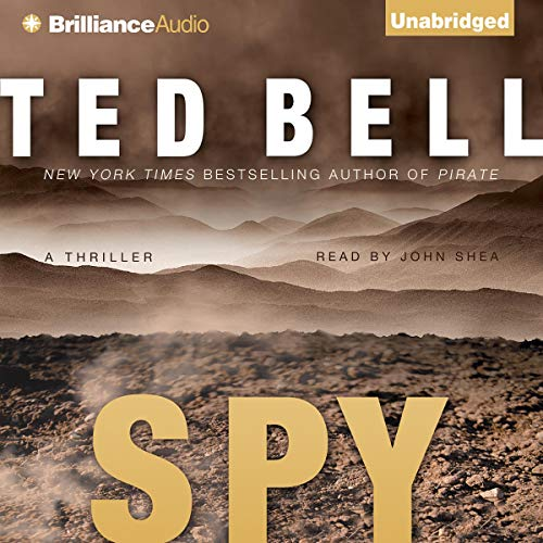 Spy audiobook cover art