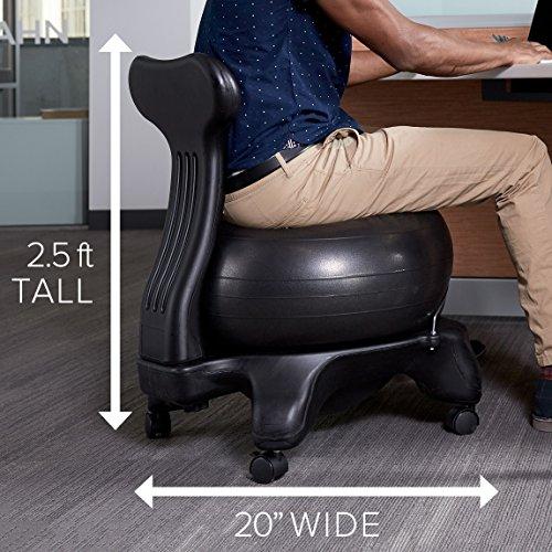 Gaiam Classic Balance Ball Chair