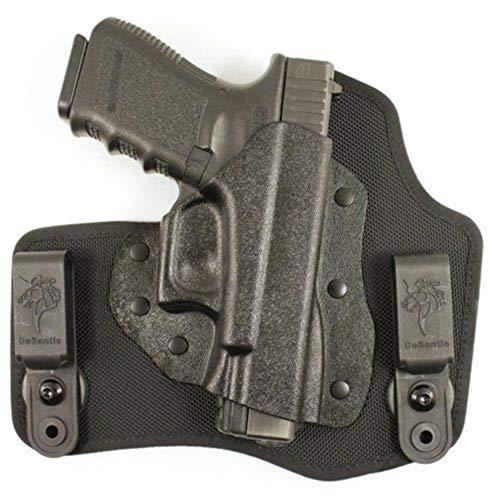 DeSantis Invader Inside The Pant Nylon Holster fits S&W M&P 9/40, Right, Black, One Size, M65KAM9Z0