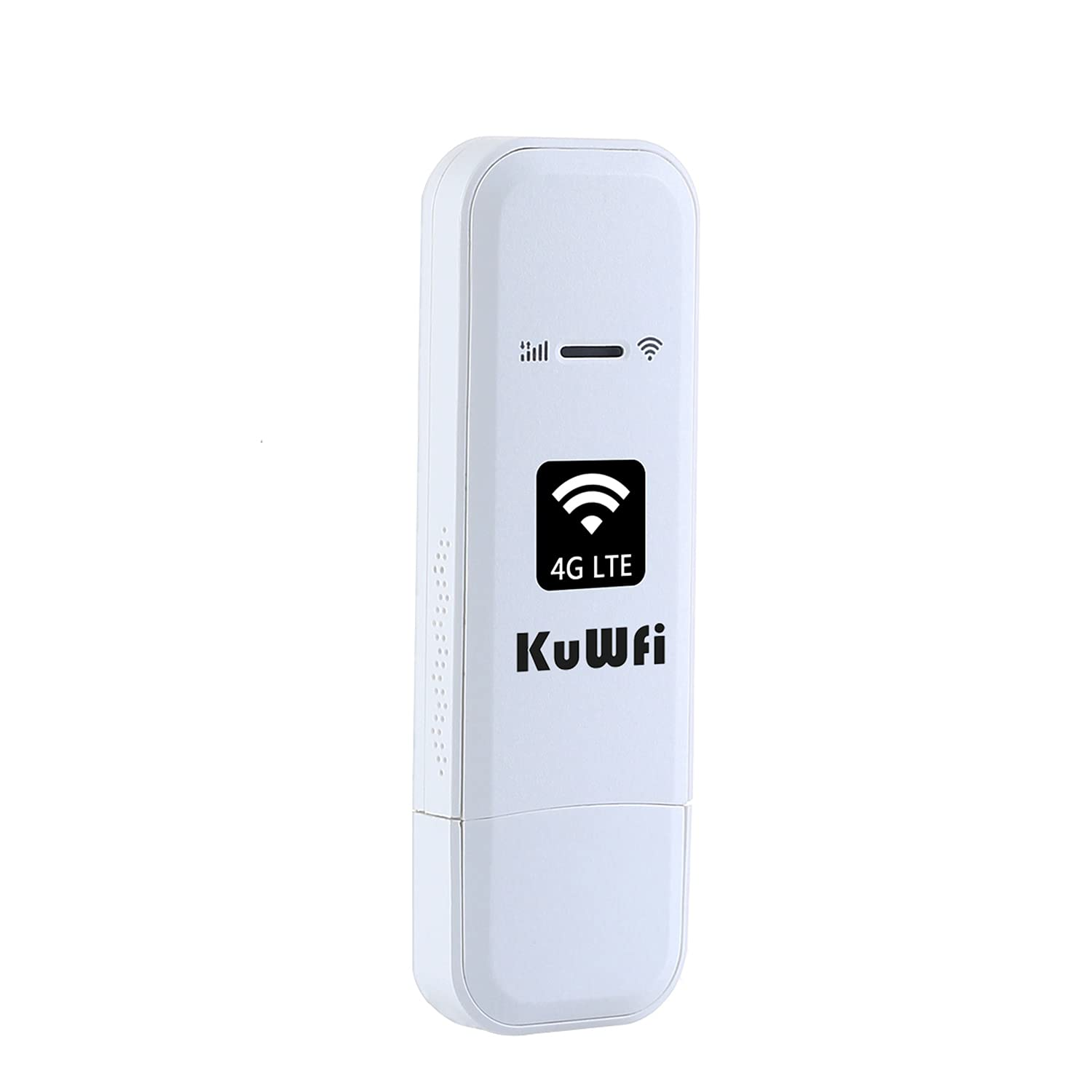 KuWFi 4G LTE USB WiFi Modem Mobile Internet Devices with SIM Card Slot High Speed Portable Travel Hotspot Mini Router