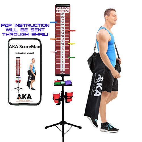 AKA ScoreMan | Scoreboard for Cornhole, Bocce Ball, & Yard Games|