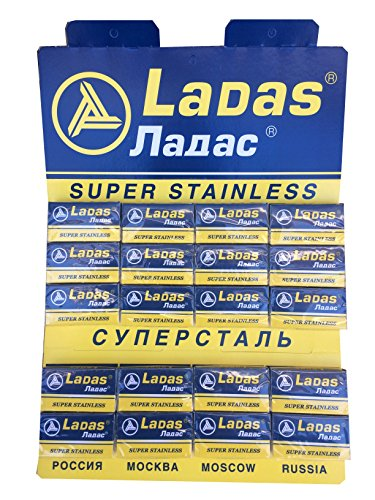 100 Ladas Super Stainless Rasierklingen