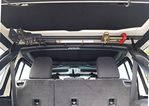 Best Jeep JL Wrangler Hi-Lift Jack Mount kit - Stealth by Dominion OffRoad (Please Read Fitment Details in Description Below)
