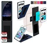 Hülle für Meizu Pro 5 Tasche Cover Case Bumper | Blau |