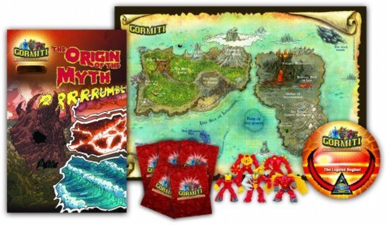 Gormiti Starter Pack Series 1  Exclusive Volcano Tribe  Lava by Gormiti