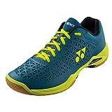 Best Badminton Shoes For Women - Yonex Eclipsion X Badminton Shoe, TQ/Y (5.5) Turquoise/Yellow Review
