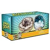 Break Open 2 Jumbo Geodes! Discover Crystal Treasure Hidden Inside...