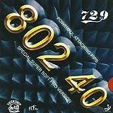 Friendship 802-40 (1,5 mm - schwarz)   - China Tischtennis Belag   ITTF   TT-Spezial - Schütt Tischtennis