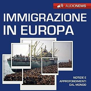 Immigrazione in Europa copertina