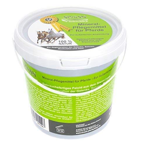 SIVASH®-Soleschlick, 1,8 kg. Mineral-Pflegemittel für Pferde zur äußerlichen Anwendung. Gebrauchsfertiges Peloid aus dem Siwaschsee. Zur Regeneration der Gelenke, Sehnen, Muskulatur und Haut