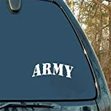 tyande Car Decal Car Sticker Us Army Ranger Infantry Military Digital Font Window Car Truck Decal for Car Laptop Window Sticker