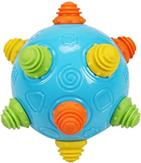 Yuhoo Excercise Dancing Ball Toy - Baby Music Shake Dancing Ball Toy, ouncing Sensory Learning Ball Toys Best Gift for Baby Boys and Girls
