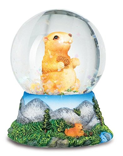 Schneekugel Figur Murmeltier