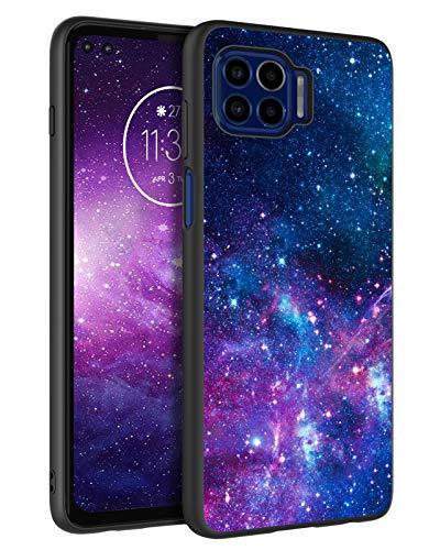 BENTOBEN Moto One 5G Case, Moto G 5G Plus Case, Slim Fit Glow in The Dark Soft Flexible Bumper Protective Shockproof Anti Scratch Non-Slip Cases for Motorola Moto One 5G 6.7' (2020), Nebula/Galaxy