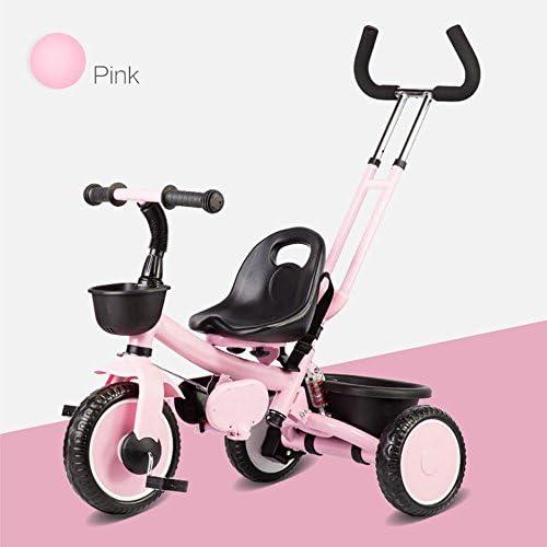 Kinderfürr r DUO 3 Rad 2 in 1 Kinder Kinder Trike Dreirad mit abnehmbaren Eltern drücken Lenker