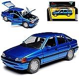 Schabak Ford Escort Schrägheck 5 Türer Blau Metallic 5. Generation 1990-2000 1/24...