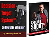 Decision Target System Vol 1 - Dry Fire Training Simulator CCW Bundle – Includes Should I Shoot? - USCCA Edition