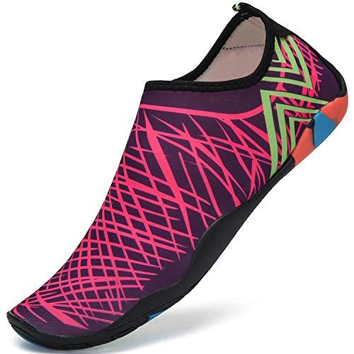 Escarpines Buceo Surf Mujer Zapatos Agua Hombre Aqua