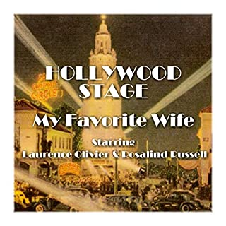 Hollywood Stage - My Favorite Wife audiobook cover art