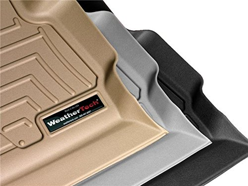 Weathertech DigitalFit 471012-1-2 - First and Second Row All Weather Floor Liners for 2017 Ford F-250/F-350/F-450/F-550 SuperCrew (Cocoa)