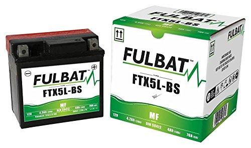 Baotian BT49QT-10 50 4T, BT49QT-11 50 4T Retro 1 Sitzer, FTX5L-BS wartungsfreie AGM, MF Fulbat Batterie
