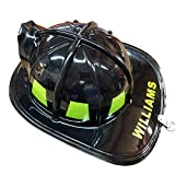 Aeromax Personalized Firefighter Helmets (Black)