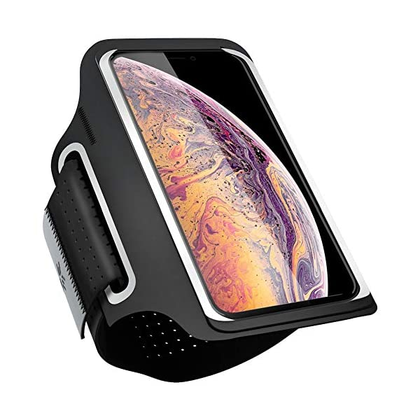 Running Armband Cell Phone Holder for iPhone X/XS/XS Max/XR/8 Plus/7Plus/6Plus, Galaxy...