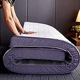 Ywyw alfombrilla de tatami para dormir colchón de futón suave y grueso colchón de futón plegable y transpirable colchón de tatami japonés cama enrollable colchón de dormitorio para estudiant