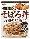 グリコ 菜彩亭 そぼろ丼 140g