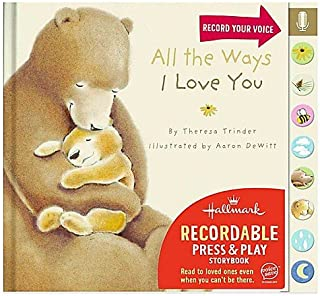 Hallmark Press & Play Recordable Storybook: All the Ways I Love You