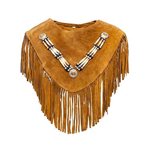 kenai dark Edler Collar Indianer Poncho,Noble Indian Poncho,Collar de poncho indio noble,Noble collier de poncho indien