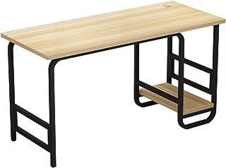 Espresso//Nero Legno 59.99 x 59.99 x 84.99 cm Furinno Abbott-Tavolo per Computer ad Angolo con scaffale per Libri