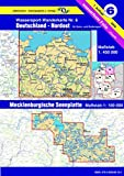 Wassersport-Wanderkarte / Kanu-und Rudersportgewässer: Jübermann Wassersport-Wanderkarten, Bl.6, Deutschland Nordost: Mecklenburgische Seenplatte 1 : 100 000. Für Kanu- und Rudersport