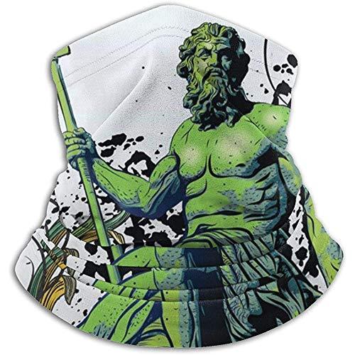 Linger In Antike Griechenland Poseidon Halswärmer Hals Gamasche Bandana Sport Schal