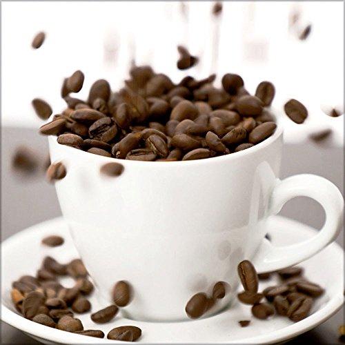artissimo Glasbild Coffee II 30 x 30 cm
