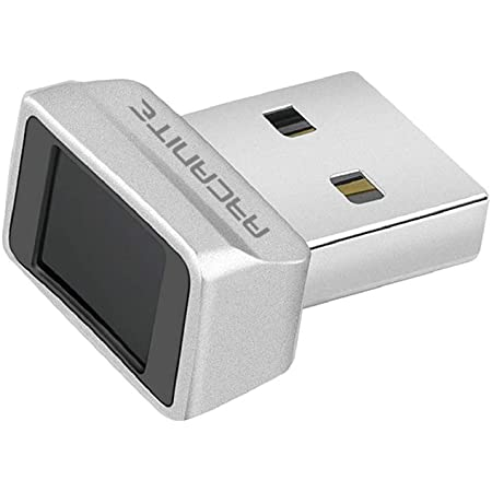 Amazon Com Arcanite Usb Fingerprint Reader For Windows 10 Hello 0 05s 360 Degree Sensor Security Device Akfsd 07 Computers Accessories