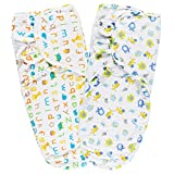 Lictin Baby Swaddle Wrap Blanket - 2pcs Swaddle Blankets for Newborn Adjustable Infant Baby Newborn Wrap...