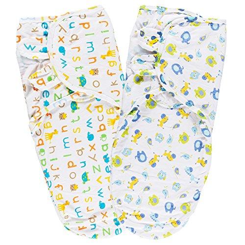 Couvertures d'emmaillotage, Lictin Gigoteuse d'emmaillotage Pour Bébé 0-6 Mois