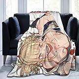 Ownspace My Hero MHA Academia Himiko Toga Blanket for Unisex Adult Novelty Throw Blanket for Sofa Blanket Home Sherpa Fabric Flannel Blanket 80'' x60