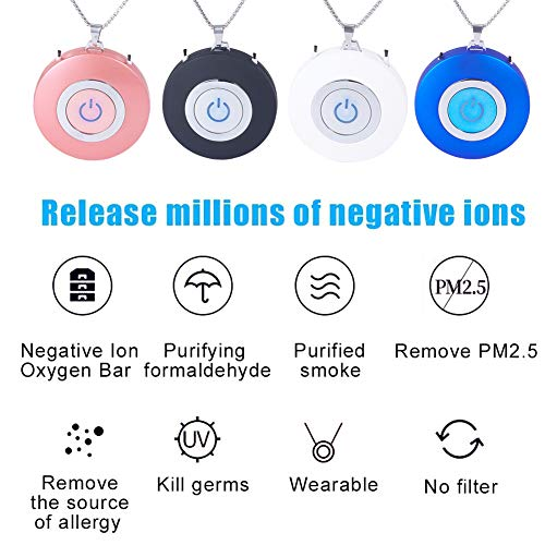XhuangTech-Personal-Air-Purifier-NecklaceUSB-Portable-Air-FreshenerWearable-Ionizer-Mini-Negative-Ion-Air-CleanerNo-Radiation-Low-Noise-for-Adults-Kids