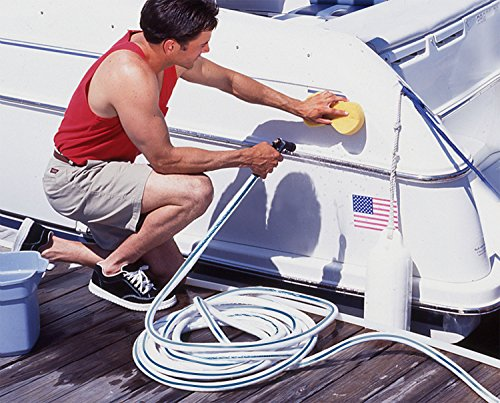 Teknor Apex NeverKink, 8612-50 Boat and Camper, Drinking Water Safe Hose, 5/8-Inch-by-50-Foot