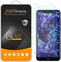 (2 Pack) Supershieldz for Nokia (5.1 Plus) Tempered Glass Screen Protector, Anti Scratch, Bubble Free