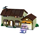 QZPM Conjunto De Luces (Casa De Los Simpsons) Modelo De Construcción De Bloques, Kit De Luz LED Compatible con Lego 71006 (NO Incluido En El Modelo)