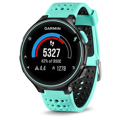 Garmin Forerunner 235, GPS Watch, NA/PAC, Black/Frost Blue, 010-03717-48