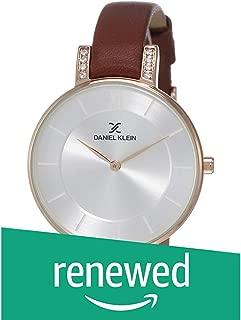 (Renewed) Daniel Klein Analog Silver Dial Women's Watch-DK12027-3