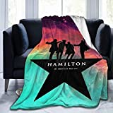 customgogo Hamilton The Musical Blanket Flannel Throw Blanket Ultra Soft Micro Fleece Blankets Bed Couch Living Room 40 X 50 Inch