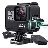 Wealpe Rahmen Rahmenhalterung mit Objektivschutz und Lens Cap Kompatibel mit GoPro Hero 7 Schwarz,...