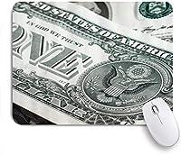 KAPANOUマウスパッド 我ら。ドル紙幣パターンデジタルプリント ゲーミング オフィス最適 おしゃれ 防水 耐久性が良い 滑り止めゴム底 ゲーミングなど適用 マウス 用ノートブックコンピュータマウスマット