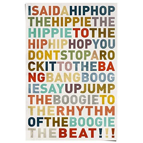 REINDERS I Said a Hiphop Poster - Papier - 61 x 91,5 cm - Mehrfarbig